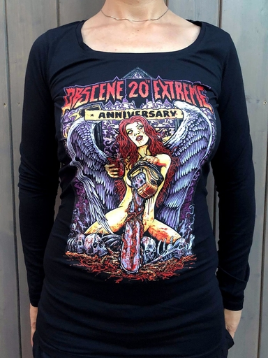 OBSCENE EXTREME 2018 – FALLEN ANGEL BLACK - GIRLIE LONG SLEEVE