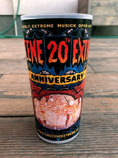 OBSCENE EXTREME 2018 - 20TH ANNIVERSARY - CUP