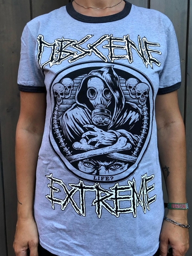OBSCENE EXTREME 2018 – NAPALM DEATH / OBSCENE EXTREME CHARITY TS - GREY
