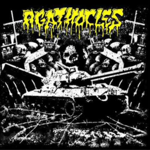AGATHOCLES/OXIDISED RAZOR - Raw War CD