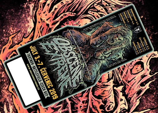 OBSCENE EXTREME 2019 - FESTIVAL - TICKET