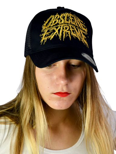 OBSCENE EXTREME 2019 – BLACK/GOLD TRUCKER