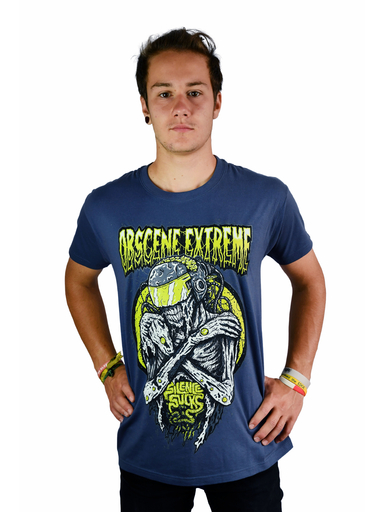 OBSCENE EXTREME 2019 – FUTURE?!? – GREY/BLUE TS