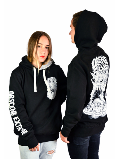 OBSCENE EXTREME 2019 – TRUTNOV – THE TOWN OF THE DRAGON – BLACK UNISEX HOODIE
