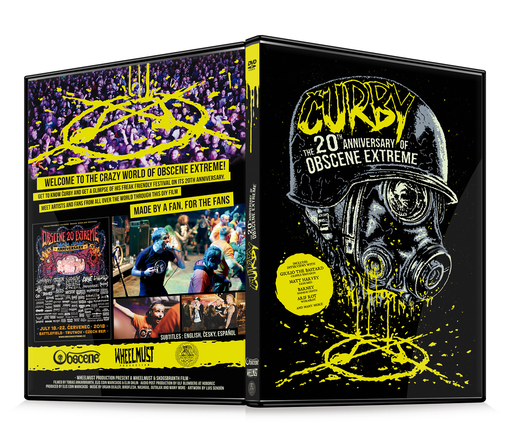 OBSCENE EXTREME 2019 – Čurby - The 20 Anniversary of OBSCENE EXTREME – DVD