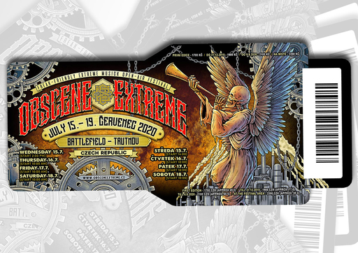 OBSCENE EXTREME 2020 - FESTIVAL - TICKET
