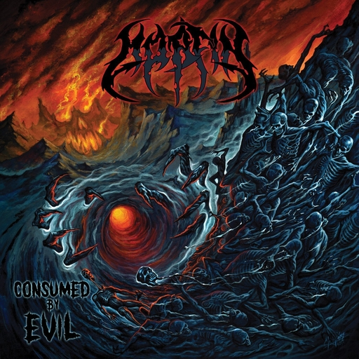 MORFIN - Consumed By Evil LP (coloured vinyl) + DOWNLOAD