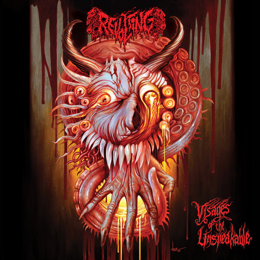 REVOLTING - Visages Of The Unspeakable LP
