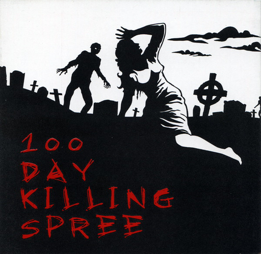100 DAY KILLING SPREE - INFECTED DISARRAY / JAZZUS / MUKEKA DI RATO / MASS GENOCIDE PROCESS 4 way CD