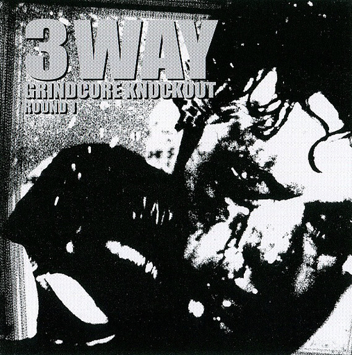 3 WAY GRINDCORE KNOCKOUT round 1 - REGURGITATE / ENTRAILS MASSACRE / SUPPOSITORY 3 way CD