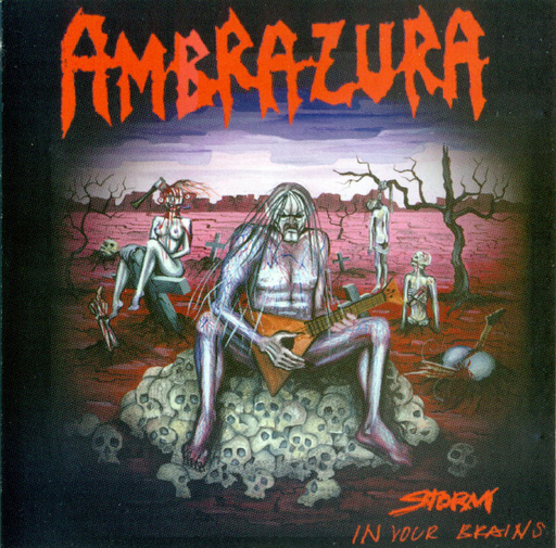 AMBRAZURA - Storm In Your Brains CD