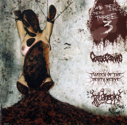 CORPSE CARVING/TWITCH OF THE DEATH NERVE/BLUDGEON 3 way split CD