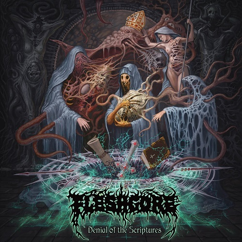 FLESHGORE - Denial Of The Scriptures CD