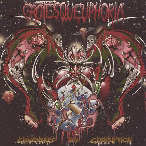 GROTESQUEUPHORIA - Conquered By Corruption CD