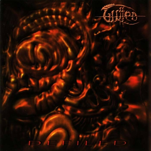 GUTTED - Defiled CD