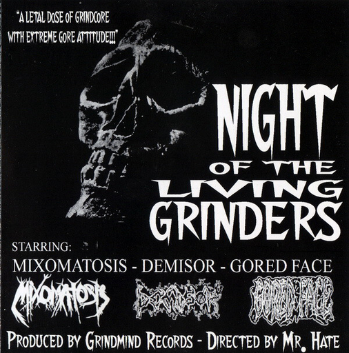 MIXOMATOSIS/DEMISOR/GORED FACE 3 way split CD