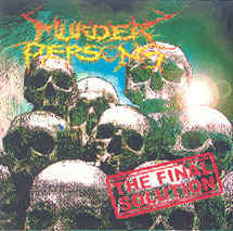 MURDER PERSONS - The Final Solution CD