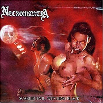 NECROMANTIA - Scarlet Evil, Witching Black CD digipack