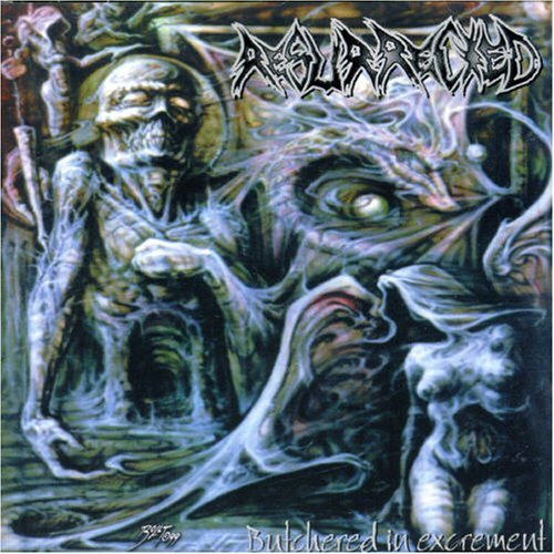 RESURRECTED - Butchered In Excrement CD