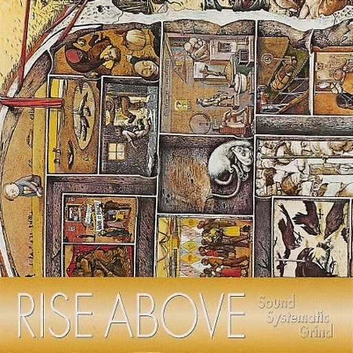 RISE ABOVE - Sound Systematic Grind CD