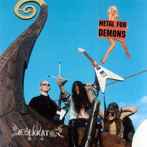 DESEKRATOR - Metal For Demons CD