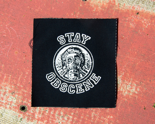 OBSCENE EXTREME 2020 - STAY OBSCENE – square PATCH