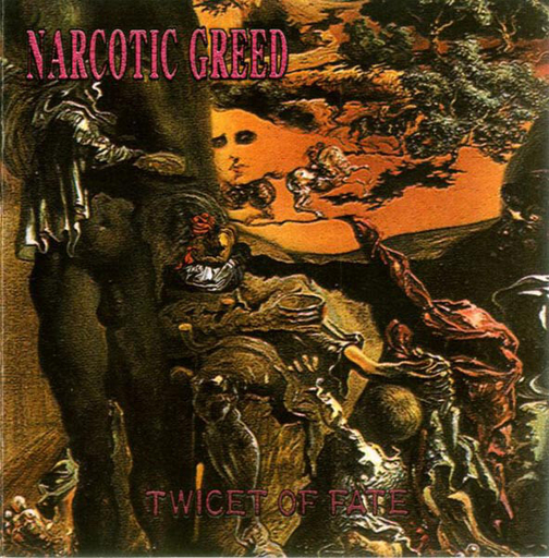 NARCOTIC GREED - Twicet Of Fate CD