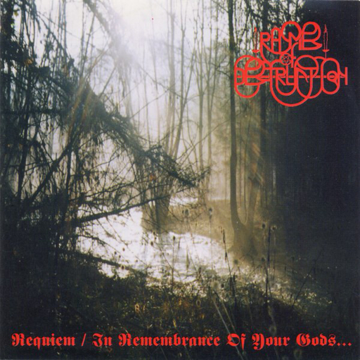 RHYMES OF DESTRUCTION - Requiem / In Remembrance Of Your Gods... CD