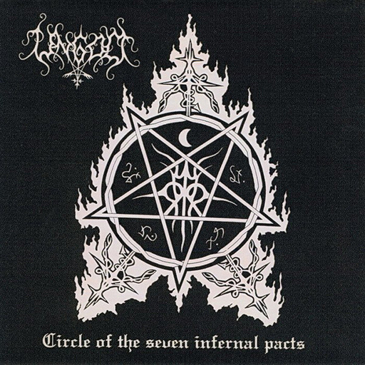 UNGOD - Circle Of The Seven Infernal Pacts CD