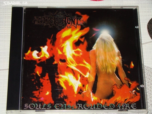 WITCH-HUNT - Souls Enshrounded Fire CD