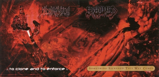 EXHUMED/INGROWING split EP