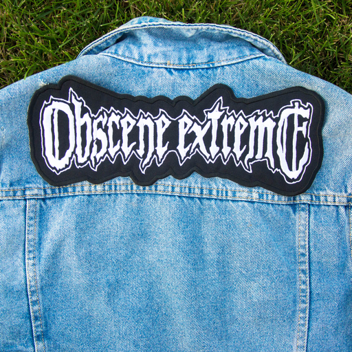 OBSCENE EXTREME 2020 - embroidered PATCH big