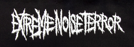 EXTREME NOISE TERROR - Logo PATCH