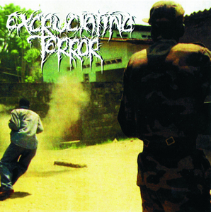 EXCRUCIATING TERROR - Divided We Fall LP green