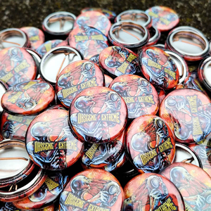 OBSCENE EXTREME 2021 - Drop The Mask - BADGE SMALL