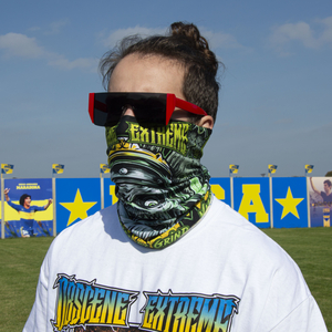 OBSCENE EXTREME 2021 - Vaccinated By Grind - BANDANA