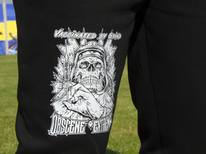 OBSCENE EXTREME 2021 - Vaccinated By Grind - BLACK TRACKSUIT