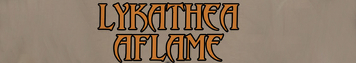 logo LYKATHEA AFLAME