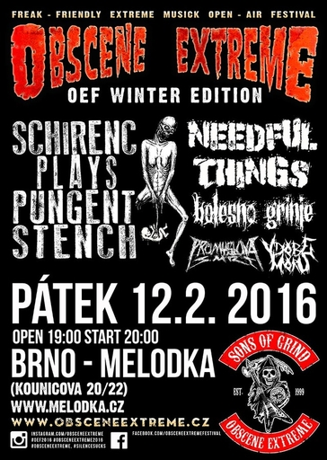 Grinding in Brno this friday 12.02.2016!!!